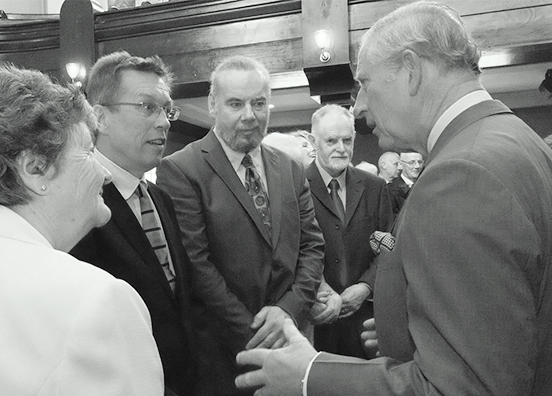 The Portico of Ards- Grand Opening by HRH Prince Charles_BW.jpg
